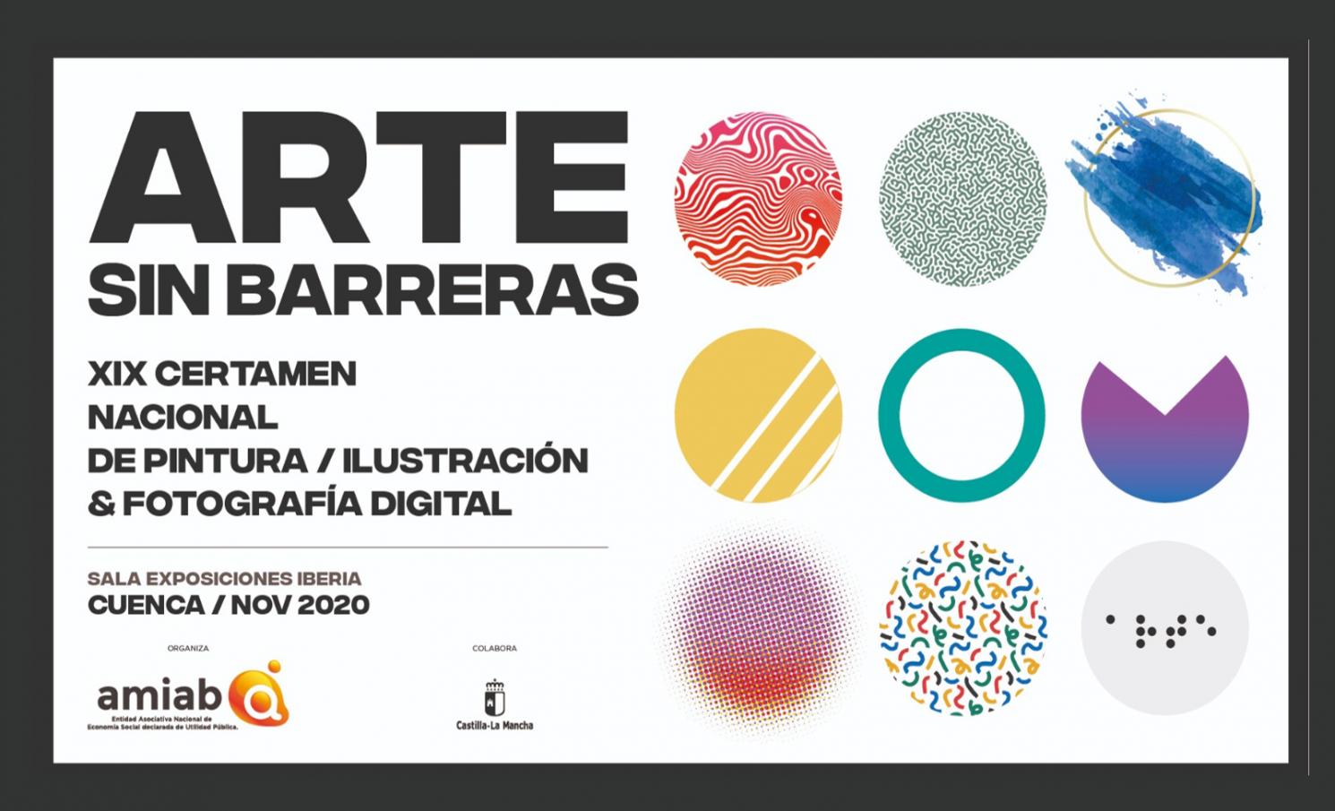 """XIX Certamen Nacional de Arte: Pintura, Ilustración y Fotografía """"Arte Sin Barreras"""""""