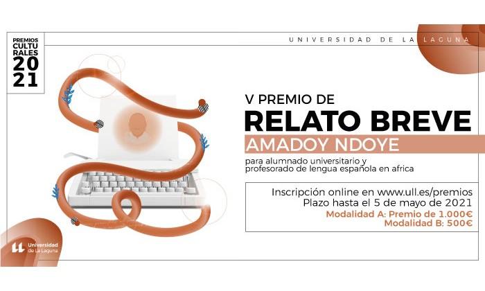 V PREMIO DE RELATO BREVE AMADOU NDOYE DE LA UNIVERSIDAD DE LA LAGUNA 2021