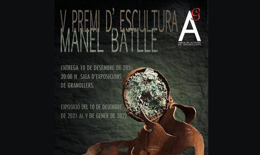 V PREMI D'ESCULTURA MANEL BATLLE 2021