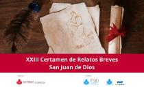 """XXIII CERTAMEN DE RELATOS BREVES """"SAN JUAN DE DIOS"""" 2021"""